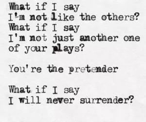 foo fighters, Lyrics, and the pretender image