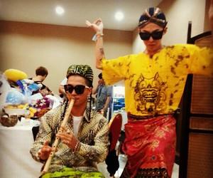 taeyang, g-dragon, and bigbang image