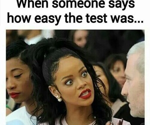 funny, school, and rihanna image