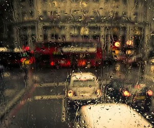 rain, cars, and city image