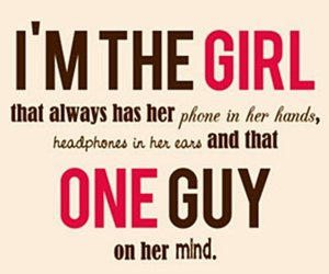 girl, quote, and guy image