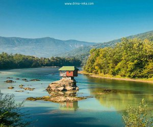 architecture, nature, and Serbia image