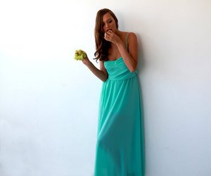 beach, dress, and etsy image