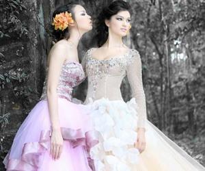 dress, dresses, and princess image
