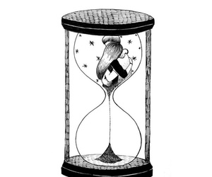 love, couple, and time image