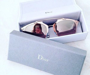 dior, fashion, and sunglasses image