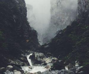 amazing, dark, and mountains image
