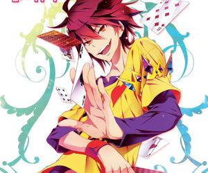 sora, anime, and no game no life image