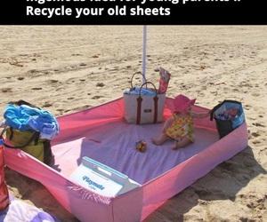 <3, beach, and diy image