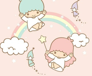 sanrio, little twin stars, and kawaii image