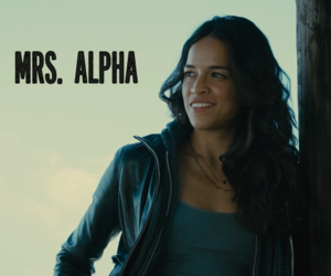 alpha, cars, and michelle rodriguez image