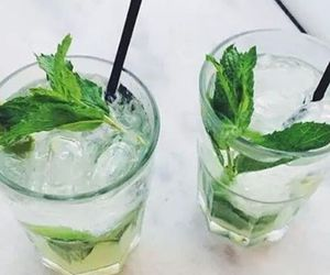 drink, mint, and summer image