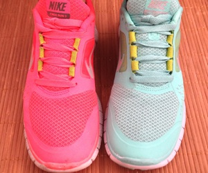 fitness, nikefree, and run image