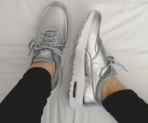 fashion, foot, and nike image