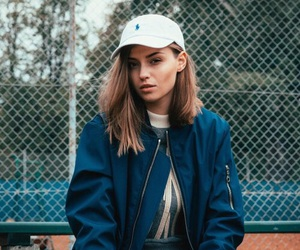 girl, style, and cap image