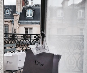 dior, shopping, and paris image