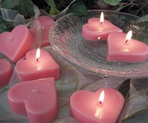pink and candle image