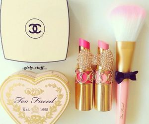 lipstick, chanel, and fashion image