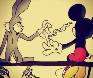 mickey, smoke, and weed image