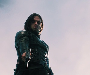 Action, bucky, and steve image