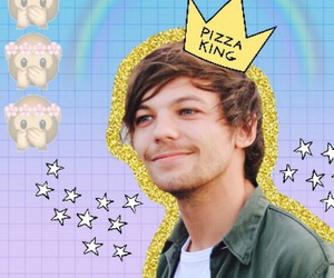 wallpaper, backgrounds, and louis tomlinson image