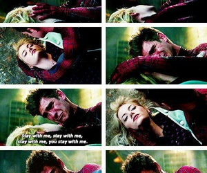 emma stone, movie, and peter parker image