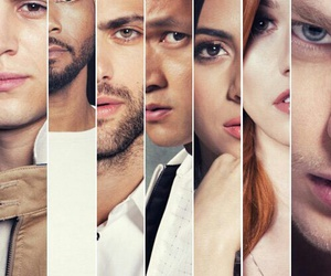 shadowhunters, clary, and jace image
