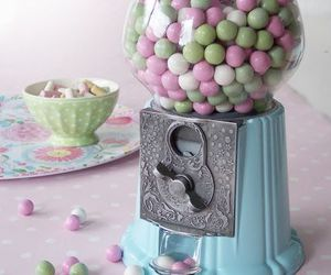 vintage, candy, and pastel image