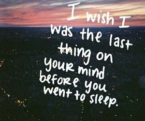 quotes, sleep, and wish image