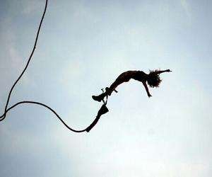 beautiful, jump, and free image
