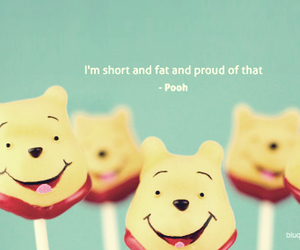 quote, pooh, and fat image