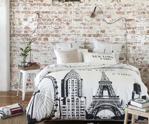 bedroom, paris, and room image