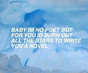 quotes, blue, and grunge image