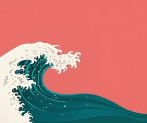 tsunami, sea, and water image