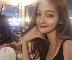 asian, beautiful, and hair image