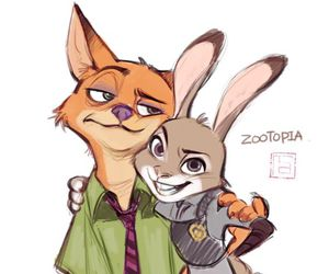 animal, disney, and zootopia image
