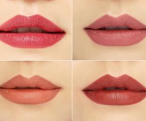 brown, lips, and makeup image