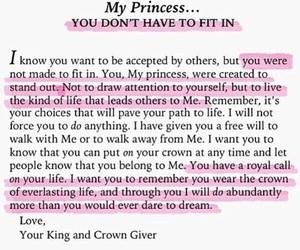 love, princess, and god image