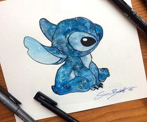 drawing, stitch, and disney image