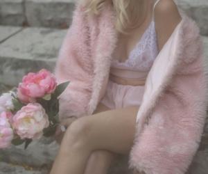 flower, grunge, and pastel image