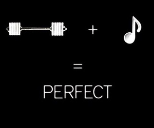 music, fitness, and gym image
