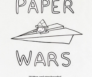 finn, adventure time, and paper wars image