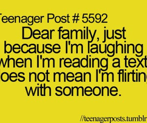 family, teenager post, and funny image