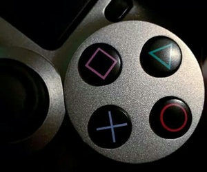 game, grey, and playstation image
