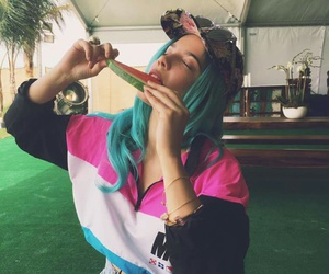 halsey and watermelon image