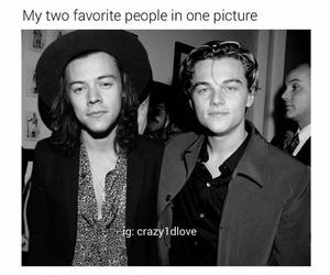 Leonardo di Caprio and Harry Styles image