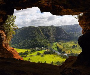 cave, Central America, and nature image