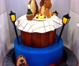 cake, disney, and dog image