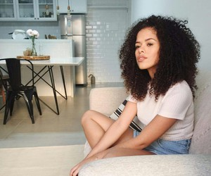 curly, curly hair, and girl image