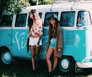 friendship, van, and good vibes image